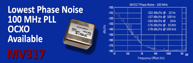 Best in Class Oven Controlled Crystal Oscillator OCXO