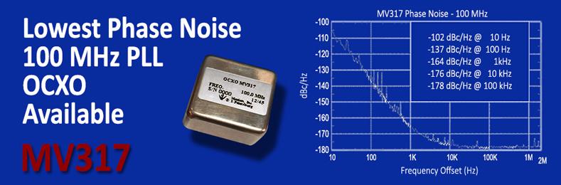 Lowest Phase Noise OCXO available